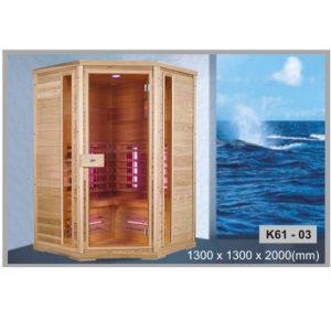 Phòng xông hơi khô Govern k61 03